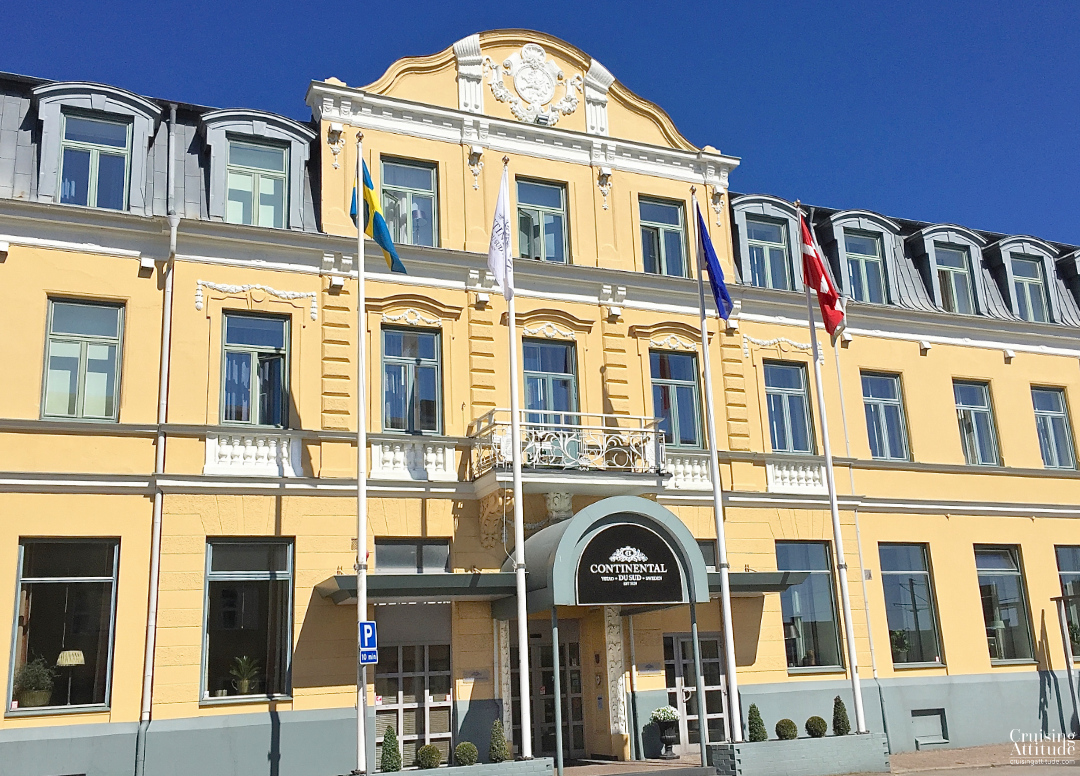 Hotel Continental in Ystad, Sweden | Cruising Attitude Sailing Blog - Discovery 55