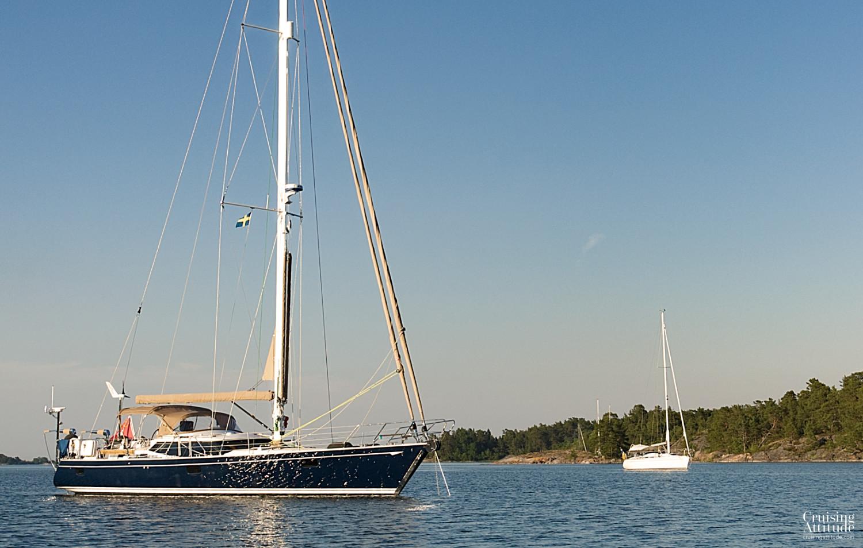 Fjärdlång, Mörkviken - Cruising Attitude Sailing Blog | Discovery 55