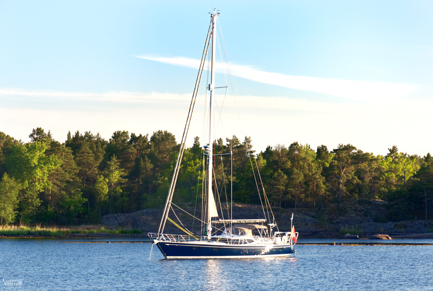 Kiddeholmen Anchorage | Cruising Attitude Sailing Blog - Discovery 55