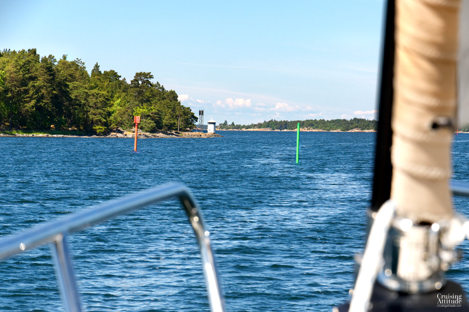 Älö anchorage | Cruising Attitude Sailing Blog - Discovery 55