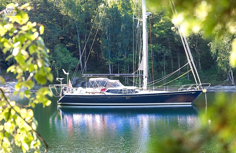 Napoleanviken - Cruising Attitude Sailing Blog | Discovery 55