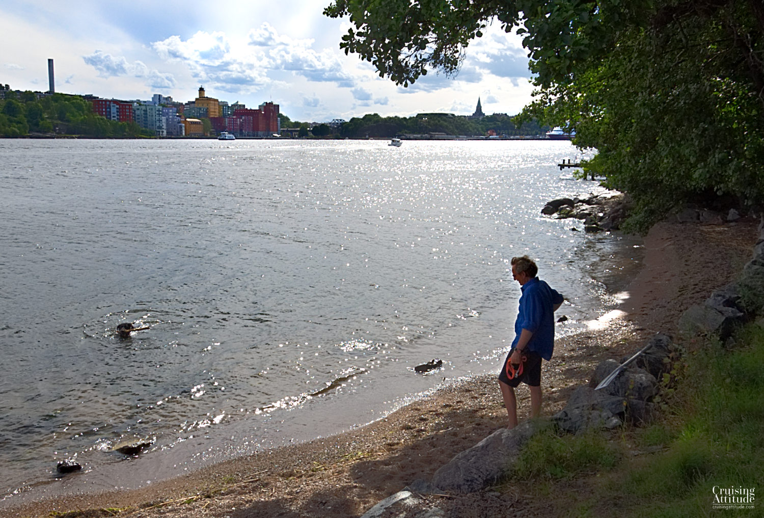 Waldemarsudde in Stockholm - Cruising Attitude Sailing Blog | Discovery 55