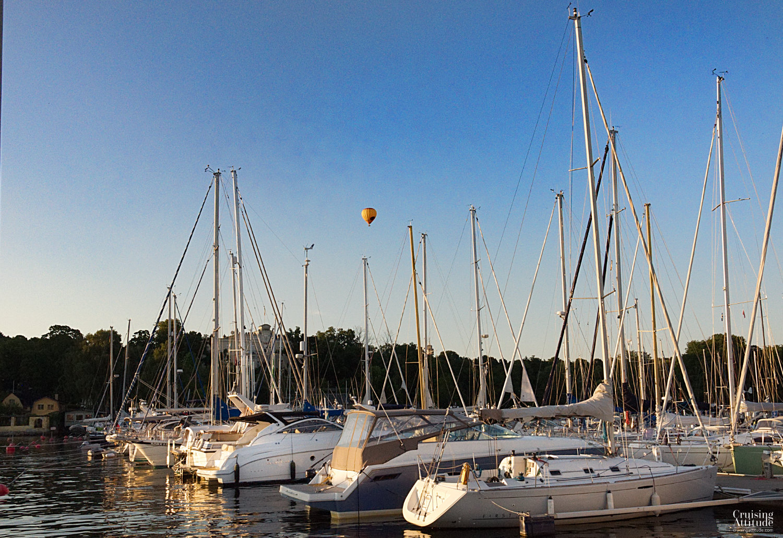 Navishamn marina in Stockholm - Cruising Attitude Sailing Blog | Discovery 55