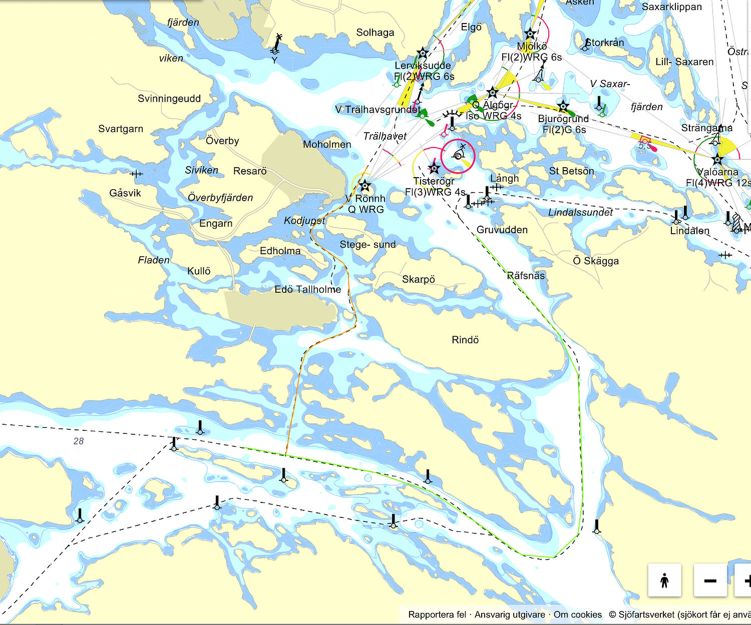 Stockholm eastern approaches - Cruising Attitude Sailing Blog | Discovery 55