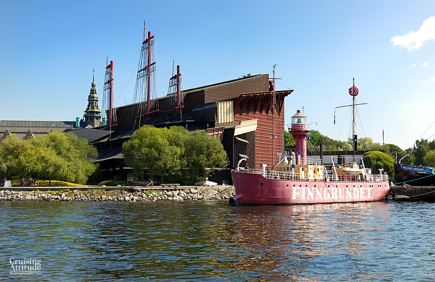 Stockholm - View of the Vasa Museum - Cruising Attitude Sailing Blog | Discovery 55