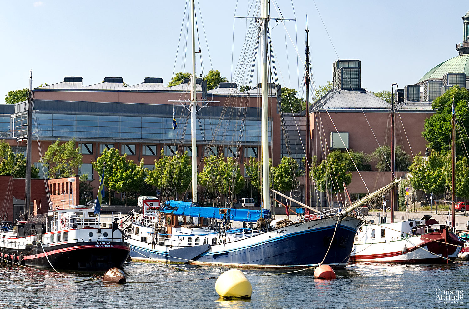 Stockholm - Museum of Modern Art - Cruising Attitude Sailing Blog | Discovery 55