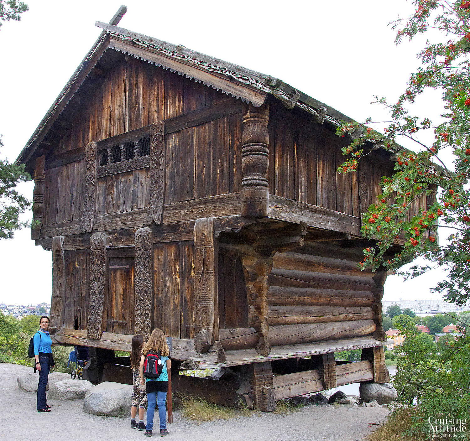 Stockholm - House at the Skansen Museum - Cruising Attitude Sailing Blog | Discovery 55