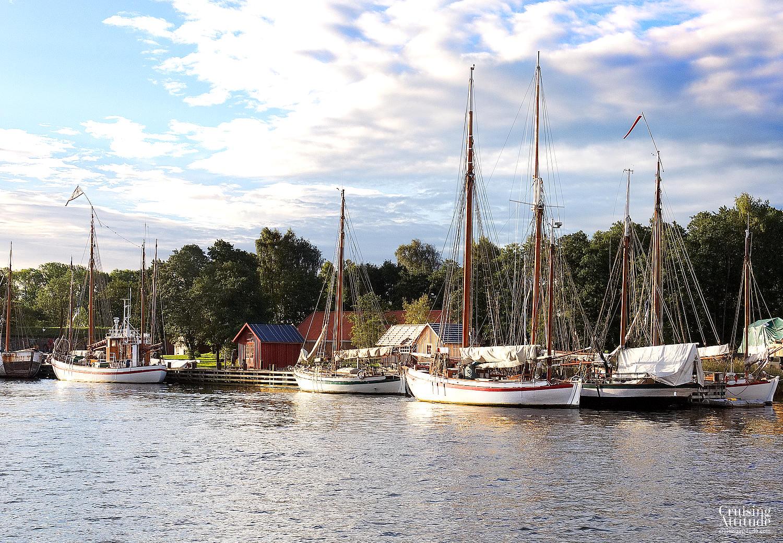Sailing the Oslofjord - Fredrikstad | Cruising Attitude Sailing Blog | Discovery 55
