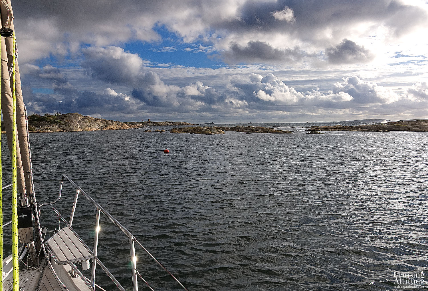 Sailing the Oslofjord - anchorage at Hankøhavna | Cruising Attitude Sailing Blog | Discovery 55