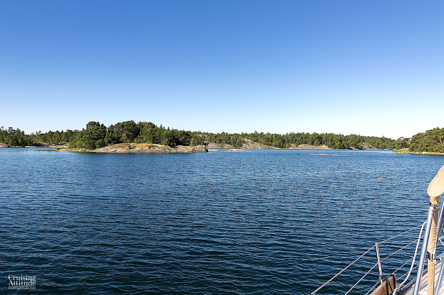 Lisselö in Stockholm's Archipelago | Cruising Attitude Sailing Blog | Discovery 55