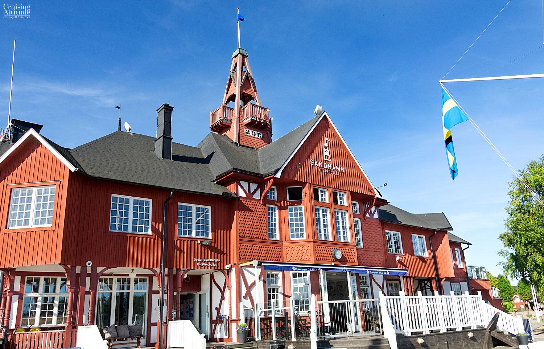 Sandhamns Seglarhotellet in Stockholm's Archipelago | Cruising Attitude Sailing Blog | Discovery 55