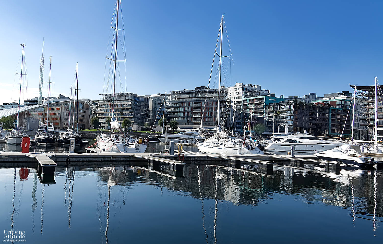 Akerbrygge Marina, Oslo | Cruising Attitude Sailing Blog | Discovery 55