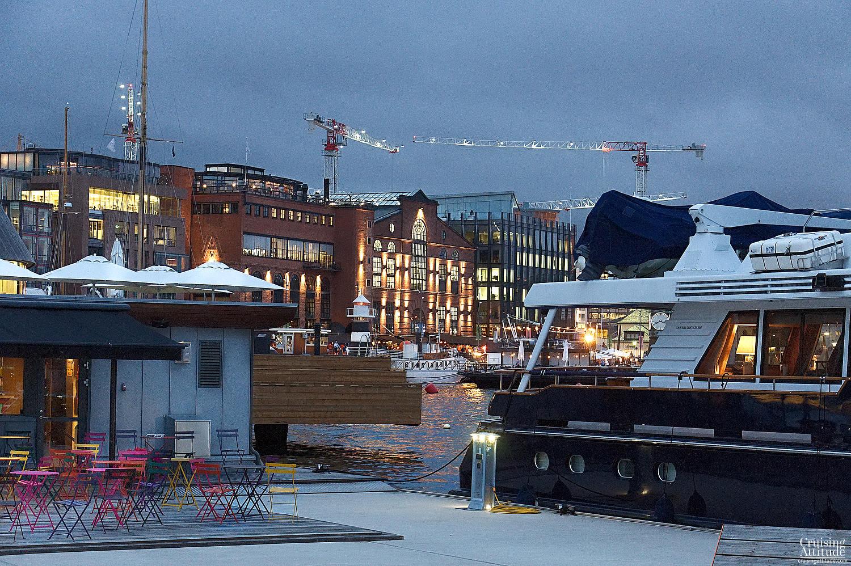 Aker Brygge Marina, Oslo | Cruising Attitude Sailing Blog | Discovery 55