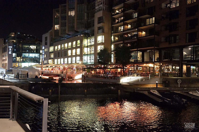 Aker Brygge, Oslo | Cruising Attitude Sailing Blog | Discovery 55