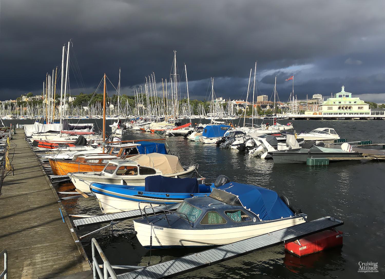 Dronninghavna boat club, Oslo | Cruising Attitude Sailing Blog | Discovery 55