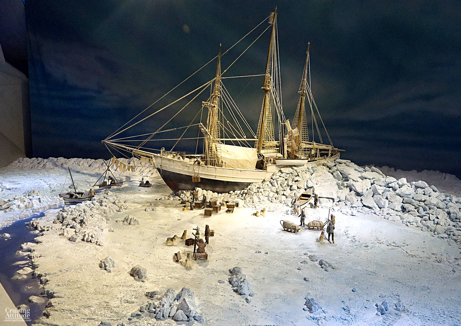 City Visit Oslo - Fram Polar Expedition Museum | Cruising Attitude Sailing Blog | Discovery 55