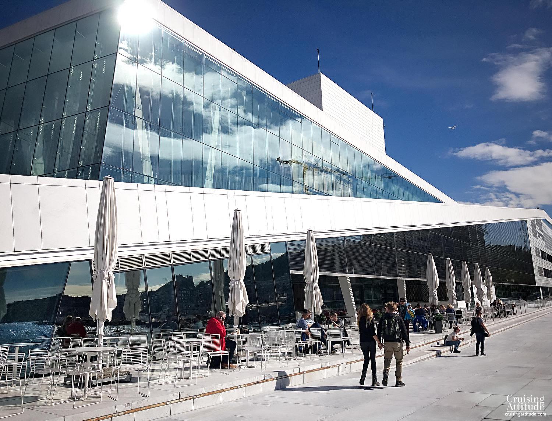 Oslo Opera House | Cruising Attitude Sailing Blog | Discovery 55